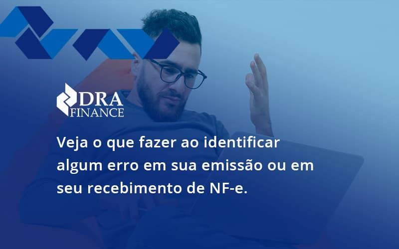 Devolver Ou Recusar Nf E Dra Finance - DRA Finance